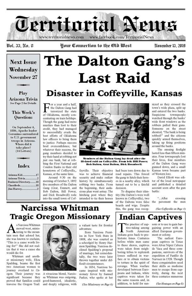 The Dalton Gang's Last Raid